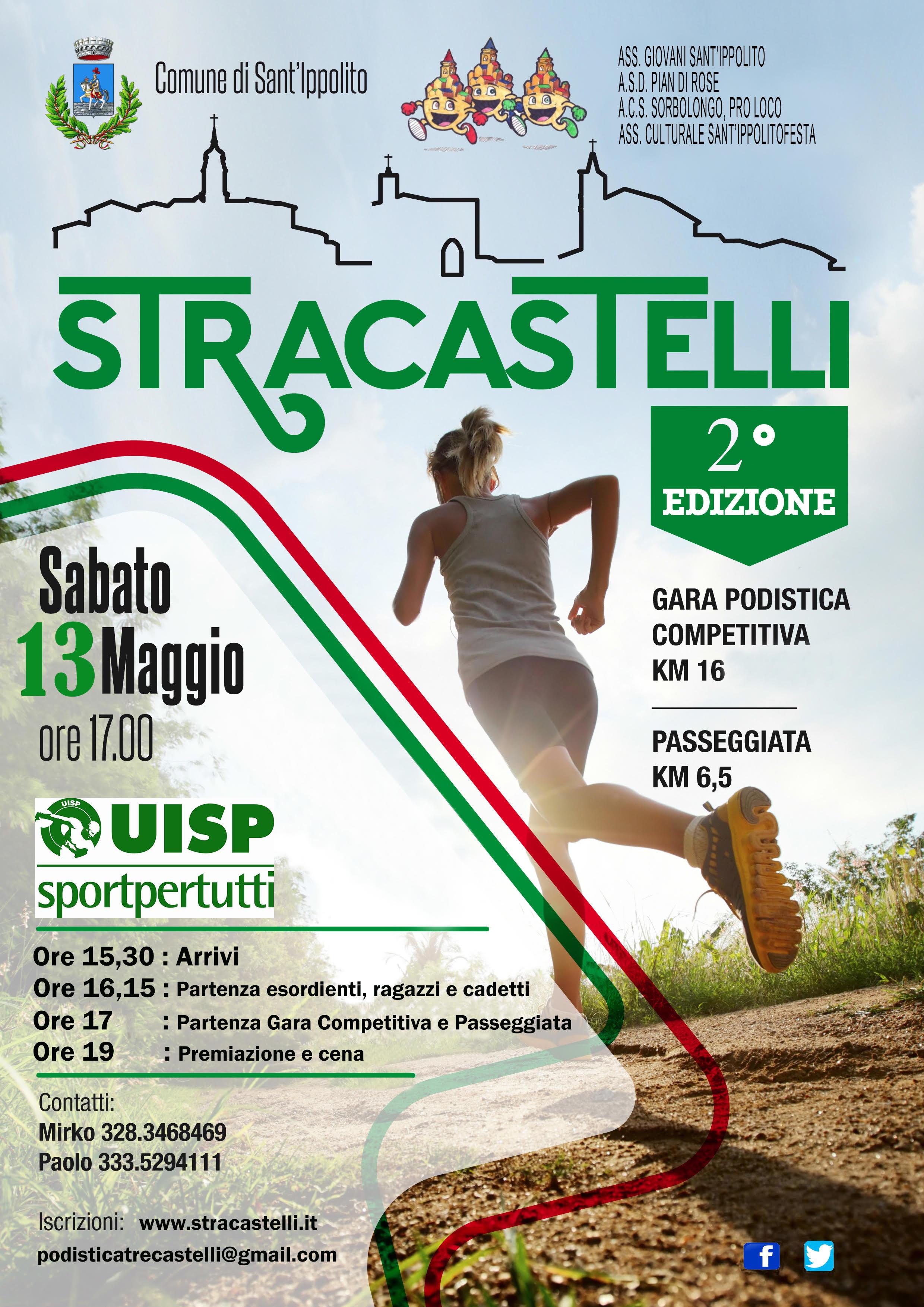 Stracastelli Sant'Ippolito 2017 - Gara podistica